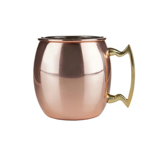 Copper Moscow Mule Mug 16oz