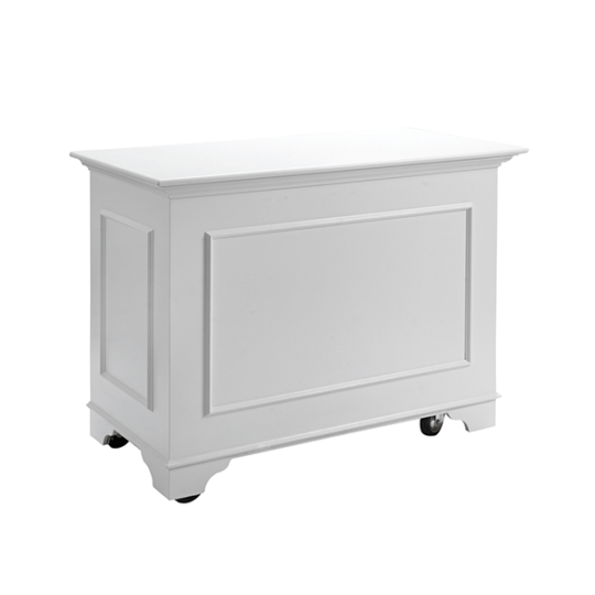 White Display Cart